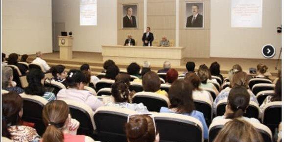 """Ə.Əliyev adına ADHTİ-da """"Pediatriyanın tibbi-sosial aspektləri"""