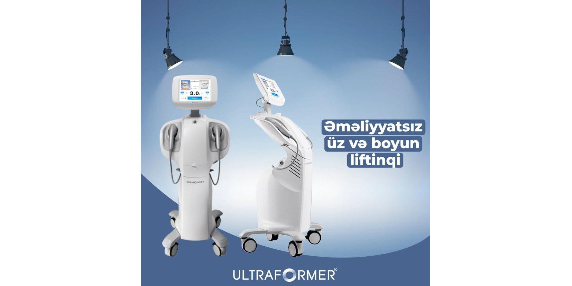 UltraFormer cihazı
