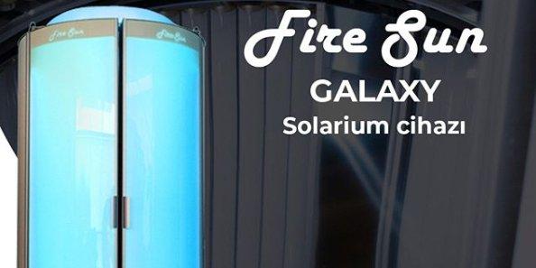Fire Sun Galaxy solarium cihazları, fire sun galaxy solarium cihazlari